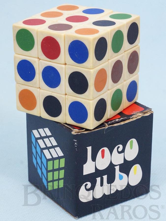 Brinquedo antigo Loco Cubo Década de 1980