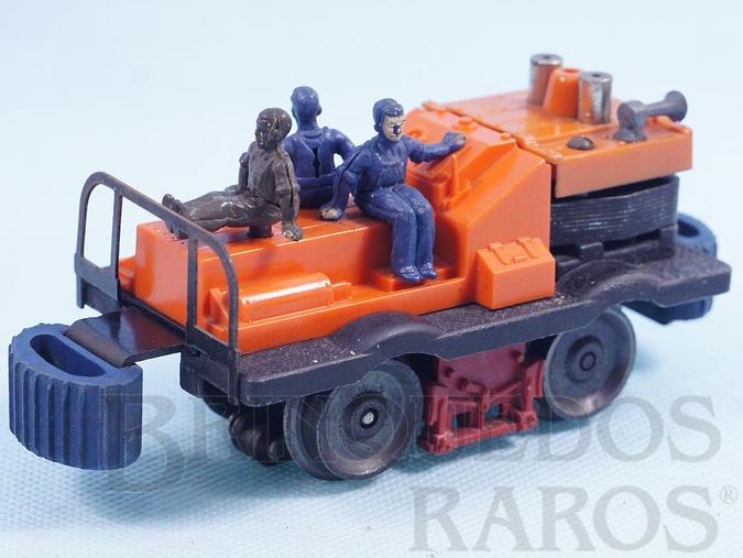 Brinquedo antigo Locomotiva 50 Gang Car Ano 1955 a 1964