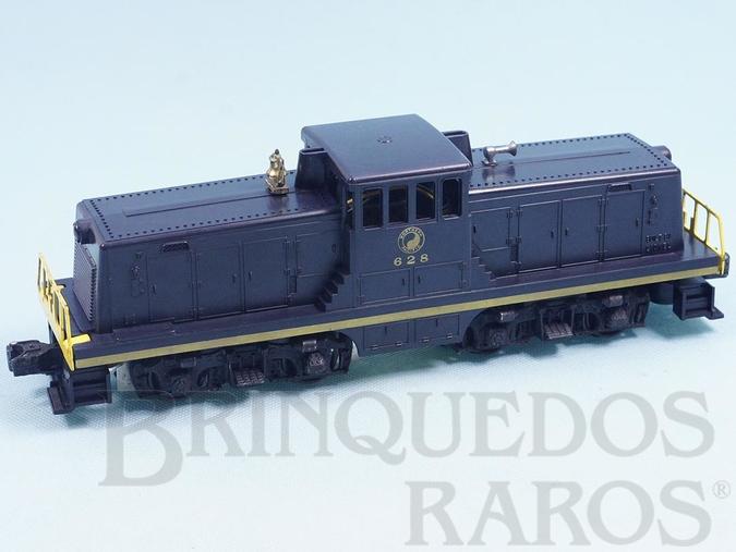 Brinquedo antigo Locomotiva 628 Nortehern Pacific 44 Ton Alco G.E. Diesel Locomotive Ano 1956 e 1957