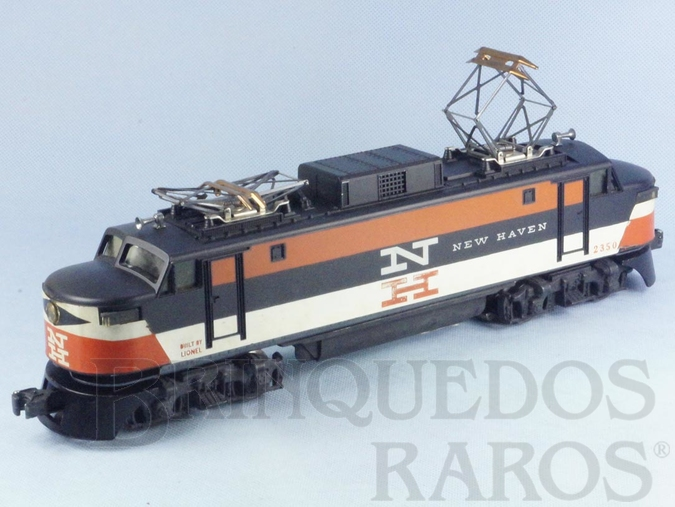 Brinquedo antigo Locomotiva Elétrica 2350 New Haven G.E. Rectifier Eletric Ano 1956 a 1958