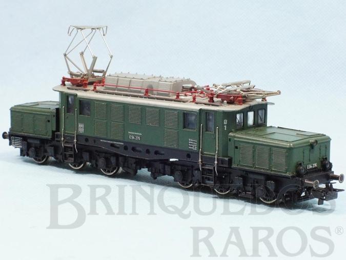 Brinquedo antigo Locomotiva Elétrica Classe BR E94 Rodagem Co`Co` DB Número 3022 Classificação Koll`s 3022/1  Ano 1964 a 1966 Comprimento 22,00 cm