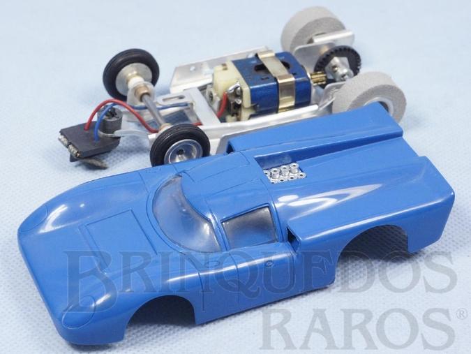 Brinquedo antigo Lola Mark III com Chassi Monobloco de Alumínio Ano 1972