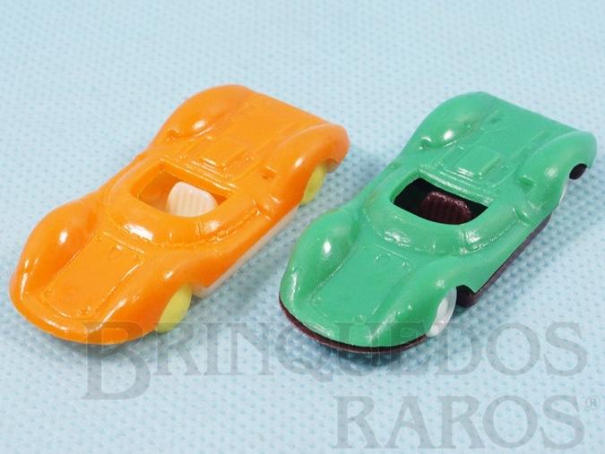 Brinquedo antigo Lotus 30 com 6,00 cm de comprimento Brinde que vinha em doces Década de 1970 Preço por unidade