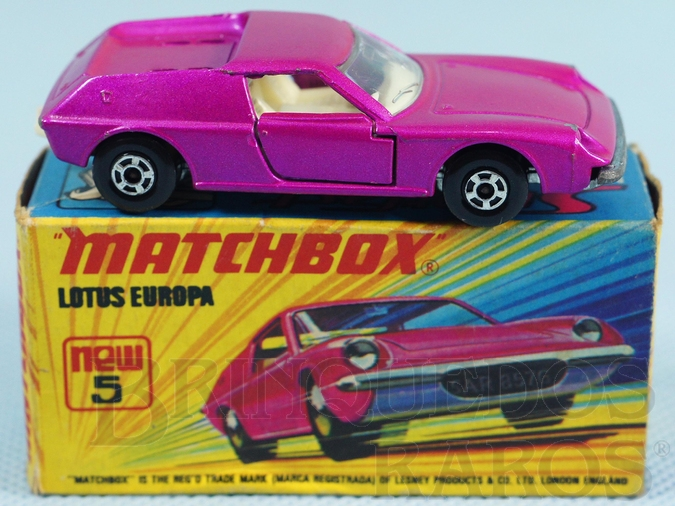 Brinquedo antigo Lotus Europa Superfast pink