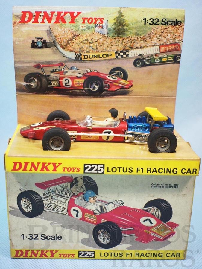 Brinquedo antigo Lotus Formula 1 Racing Car Ano 1970