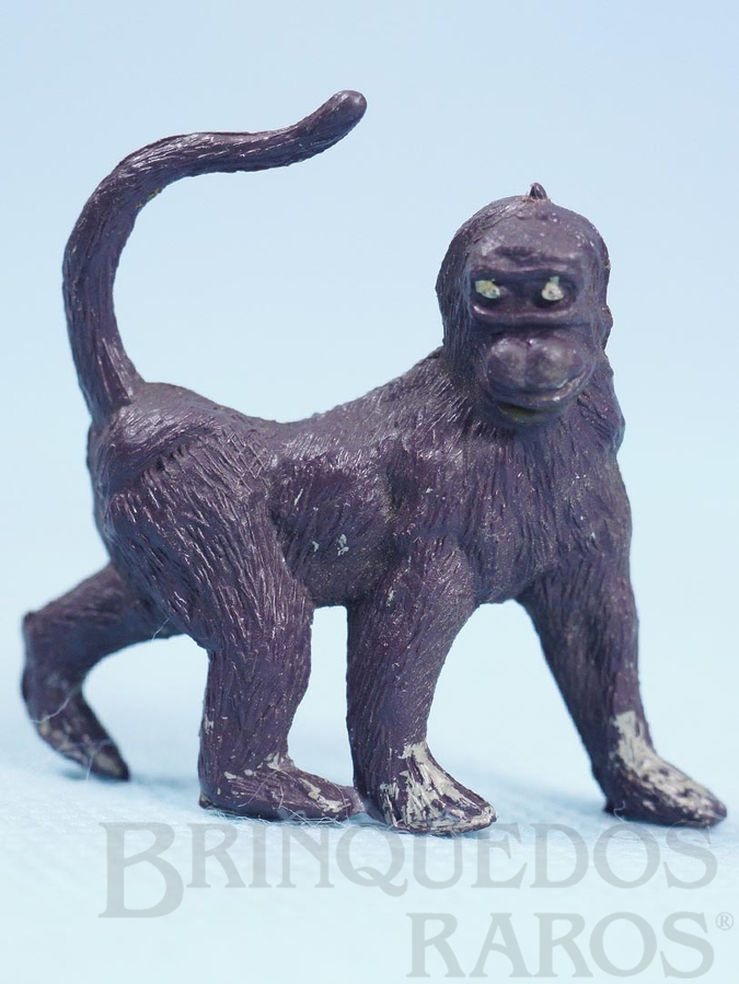 Brinquedo antigo Macaco Série Zoológico Década de 1960
