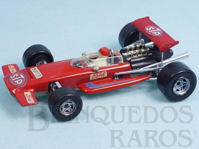 Brinquedo antigo March 701 Fórmula 1 piloto Mario Andretti Politoys Ano 1970
