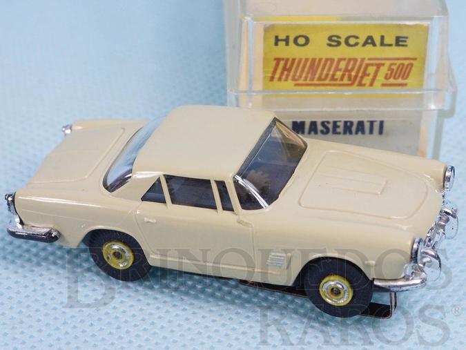 Brinquedo antigo Maserati Série Thunder Jet 500 Model Motoring Década de 1960