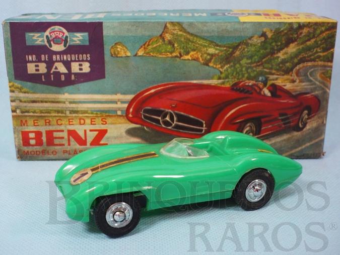 Brinquedo antigo Mercedes Benz 300 SLR com 14,00 cm de comprimento Coleção Miguel Cerrato Ano 1968