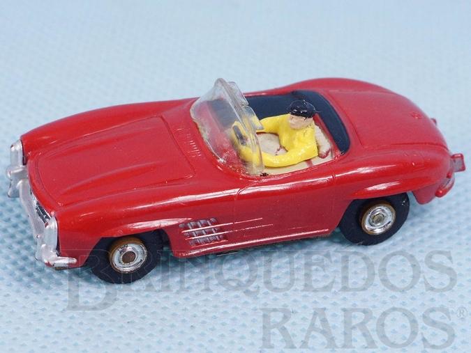 Brinquedo antigo Mercedes Benz 300SL Conversível Série Vibrator Motor Ano 1959