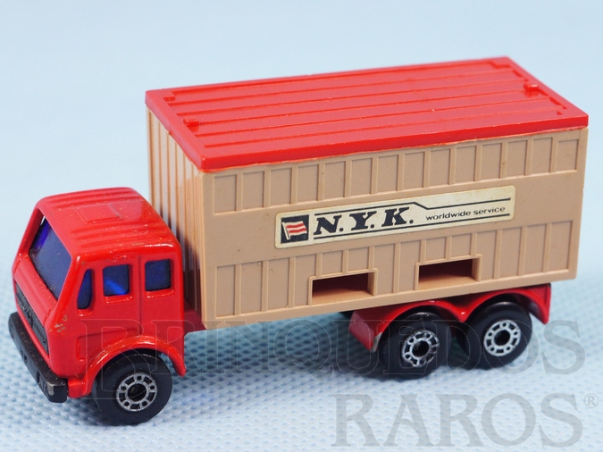 Brinquedo antigo Mercedes Benz Container Truck Superfast N.Y.K.