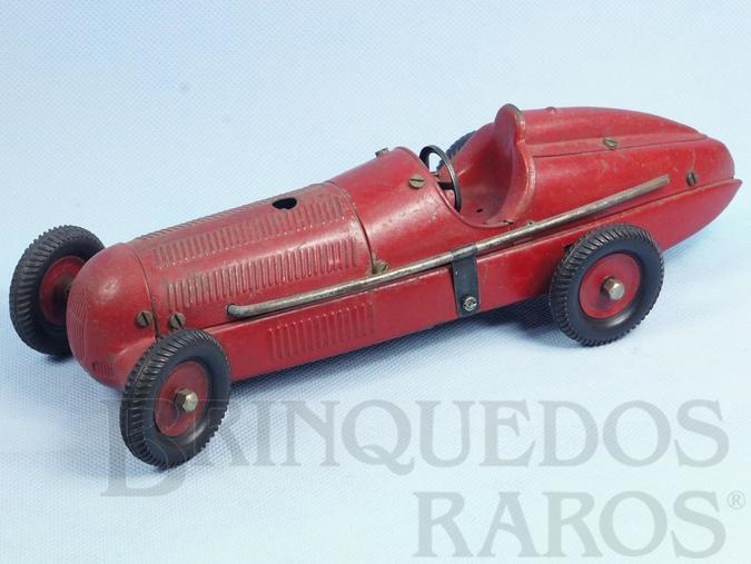 Brinquedo antigo Mercedes Benz W-125 Rennwagen Auto-Baukasten com 28,00 cm de comprimento Ano 1947