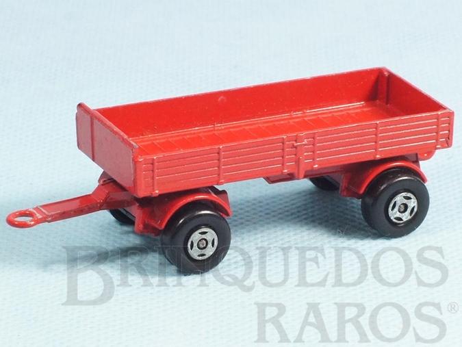 Brinquedo antigo Mercedes Trailer Superfast vermelho