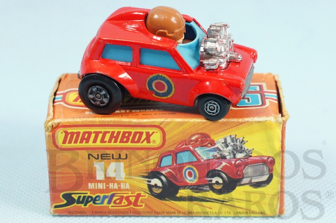 Brinquedo antigo Mini Ha Ha Superfast