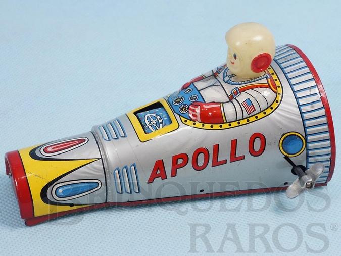 Brinquedo antigo Nave Espacial Apollo com 14,00 cm de comprimento Ano 1968