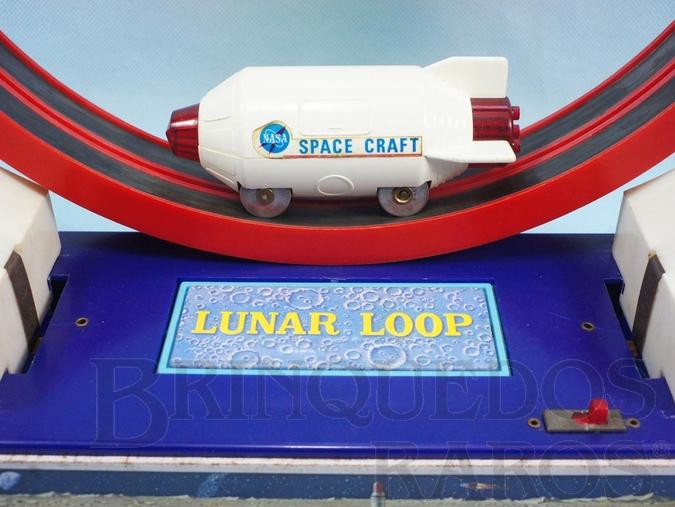 Brinquedo antigo Nave espacial com 11,00 cm de comprimento Nasa Lunar Loop Década de 1970
