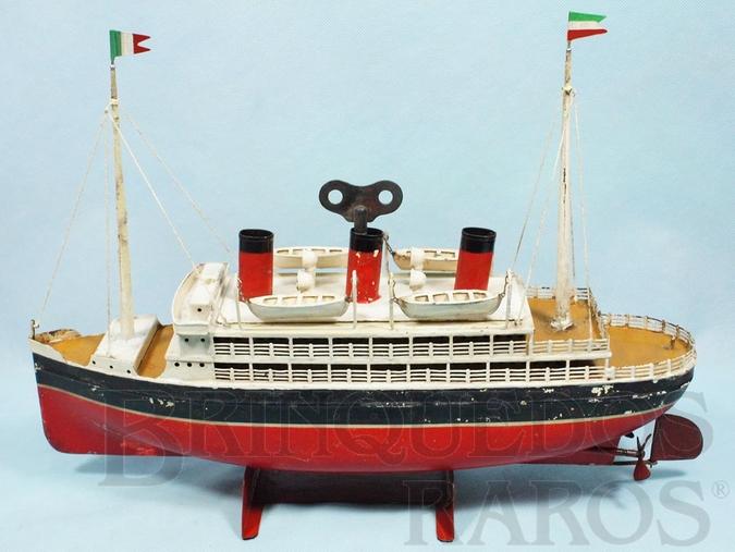 Brinquedo antigo Navio com 34,00 cm de comprimento Ano 1928