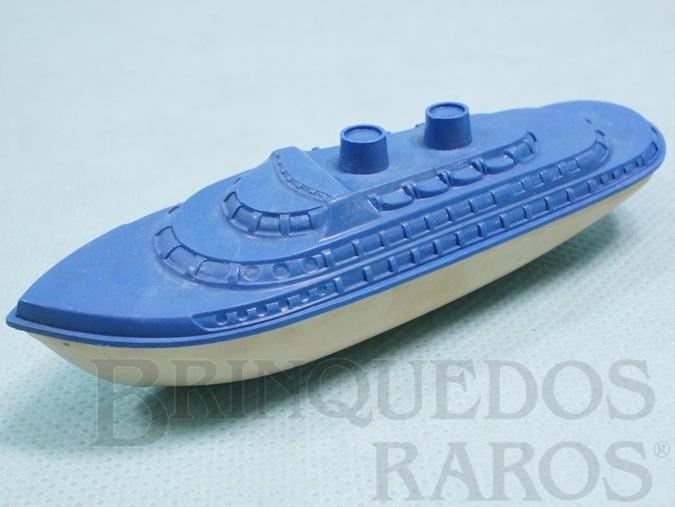 Brinquedo antigo Navio de passageiros Importado e Distribuído pela Estrela 10,00 cm de comprimento Ano 1947