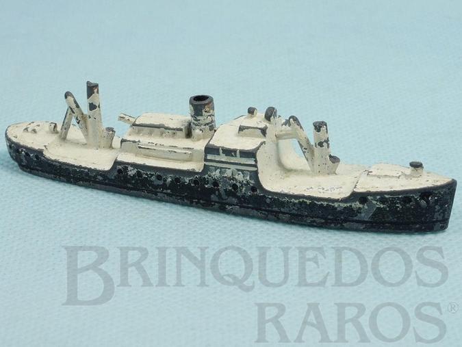 Brinquedo antigo Navio Mercante com 11,00 cm de comprimento Década de 1950