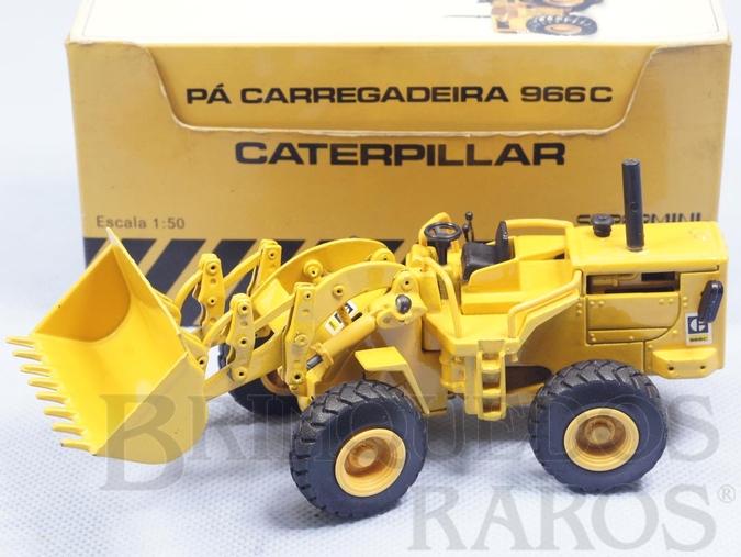 Brinquedo antigo Pá Carregadora Caterpillar 966C