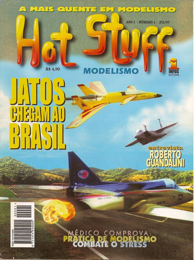 Brinquedo antigo Reportagem Revista Hot Stuff Julho de 1997