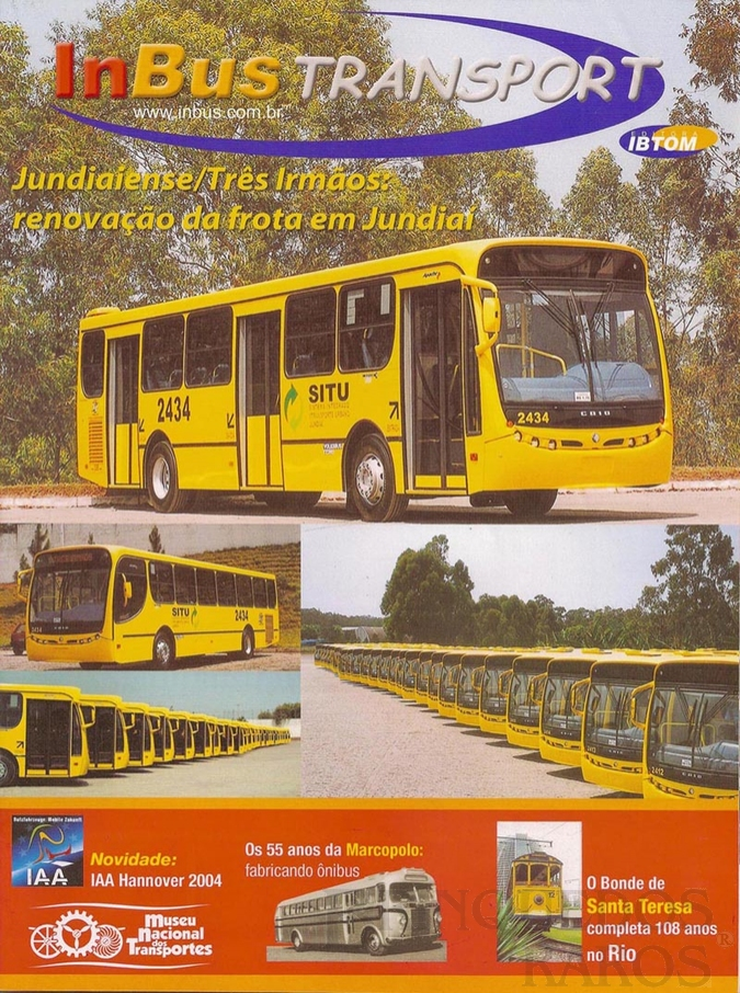 Brinquedo antigo Reportagem Revista InBus Transport Outubro de 2004