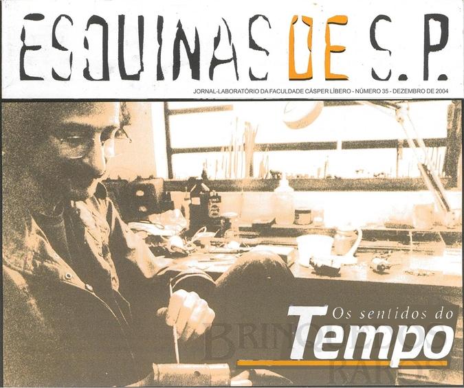 Brinquedo antigo Reportagem Jornal-Laboratório Esquina de S.P. da Faculdade Cásper Líbero Dezembro de 2004
