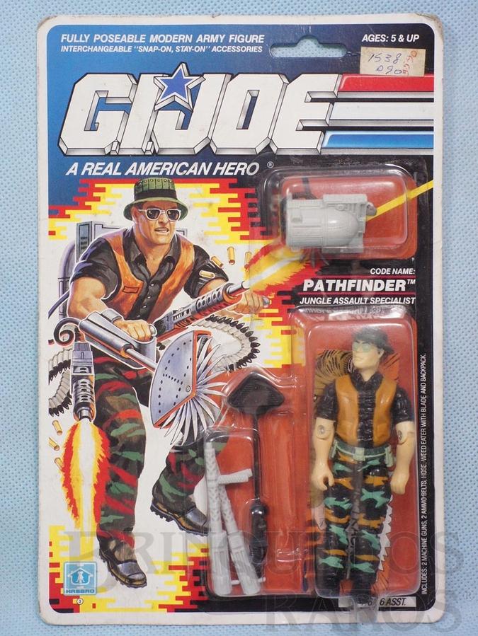 Brinquedo antigo Pathfinder completo Blister lacrado Ano 1989
