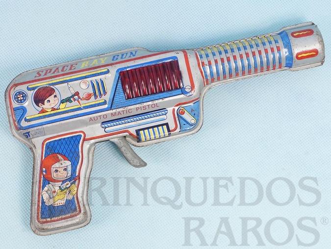 Brinquedo antigo Pistola Espacial Space Ray Gun Década de 1970