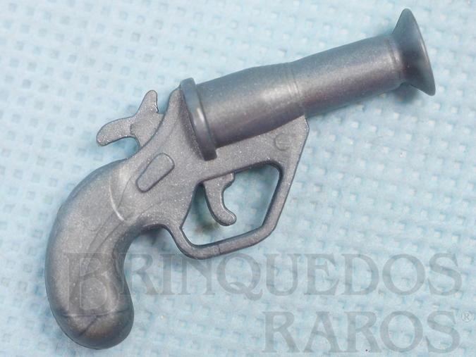 Brinquedo antigo Pistola Sinalizadora Aventura Mochila de Campanha Série 1978