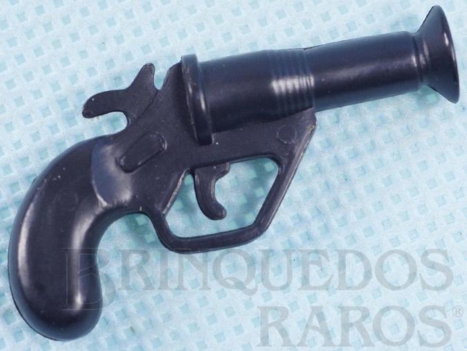 Brinquedo antigo Pistola Sinalizadora Aventura S.O.S. Cruz Vermelha Ano 1978
