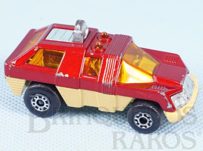 Brinquedo antigo Planet Scout Superfast vermelho metálico
