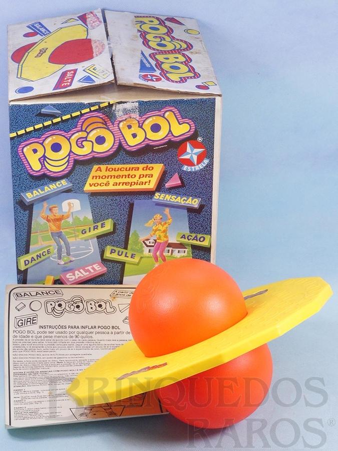 Brinquedo antigo Pogobol com 38,0 cm de diâmetro Ano 1988