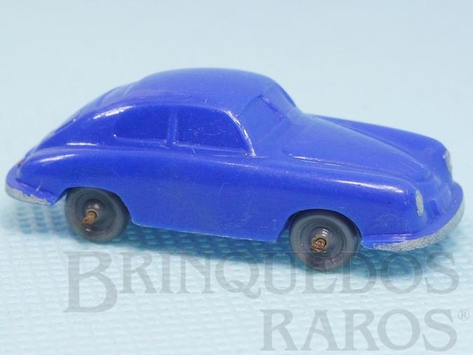 Brinquedo antigo Porsche 356 Janelas Sólidas Década de 1950