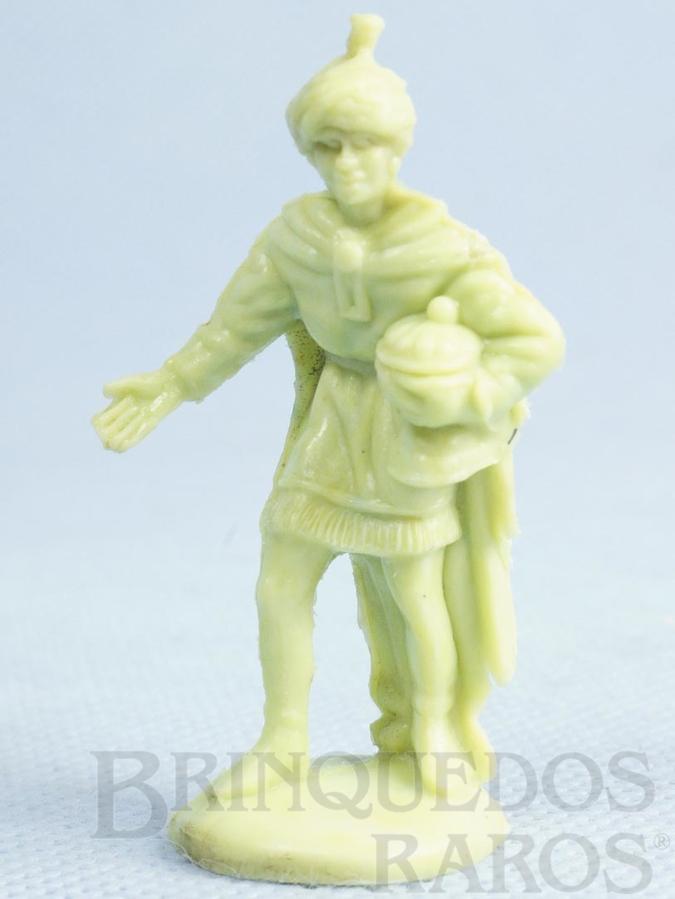 Brinquedo antigo Rei Mago Série Presépio Gulliver Década de 1960