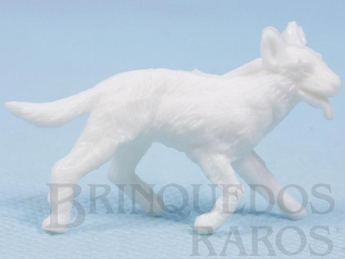 Brinquedo antigo Rin Tin Tin Forte Apache Casablanca numerado 13 branco