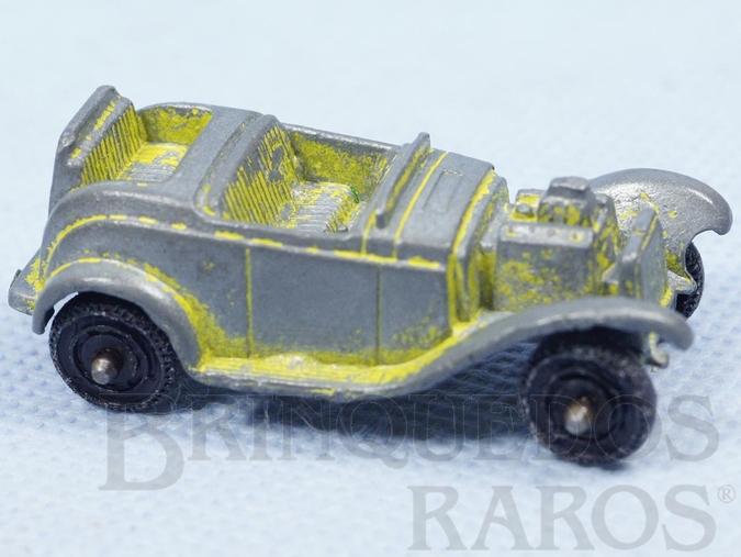 Brinquedo antigo Roadster com 5,00 cm de comprimento Década de 1960