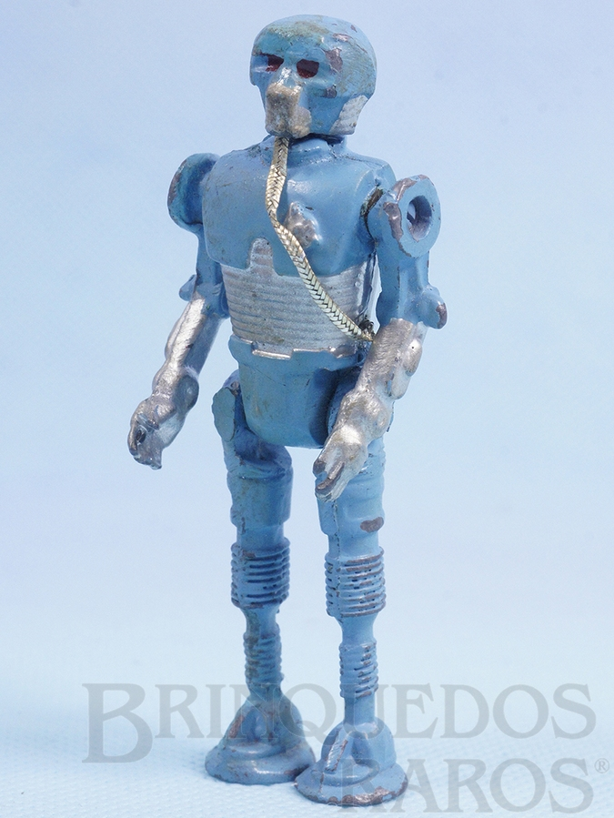 Brinquedo antigo Robot 2-1B com braços humanos Série Aventura na Galáxia Guerra nas Estrelas Star Wars Ano 1983