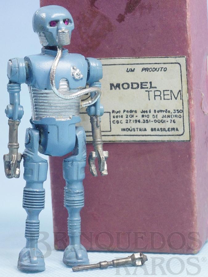 Brinquedo antigo Robot 2-1B Série Aventura na Galáxia Guerra nas Estrelas Star Wars completo com o Bastão Médico Ano 1983
