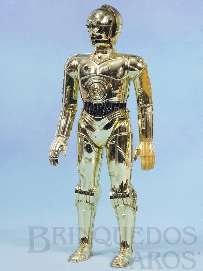 Brinquedo antigo Robot C3PO com 31,00 cm de altura Guerra nas Estrelas Star Wars Década de 1970