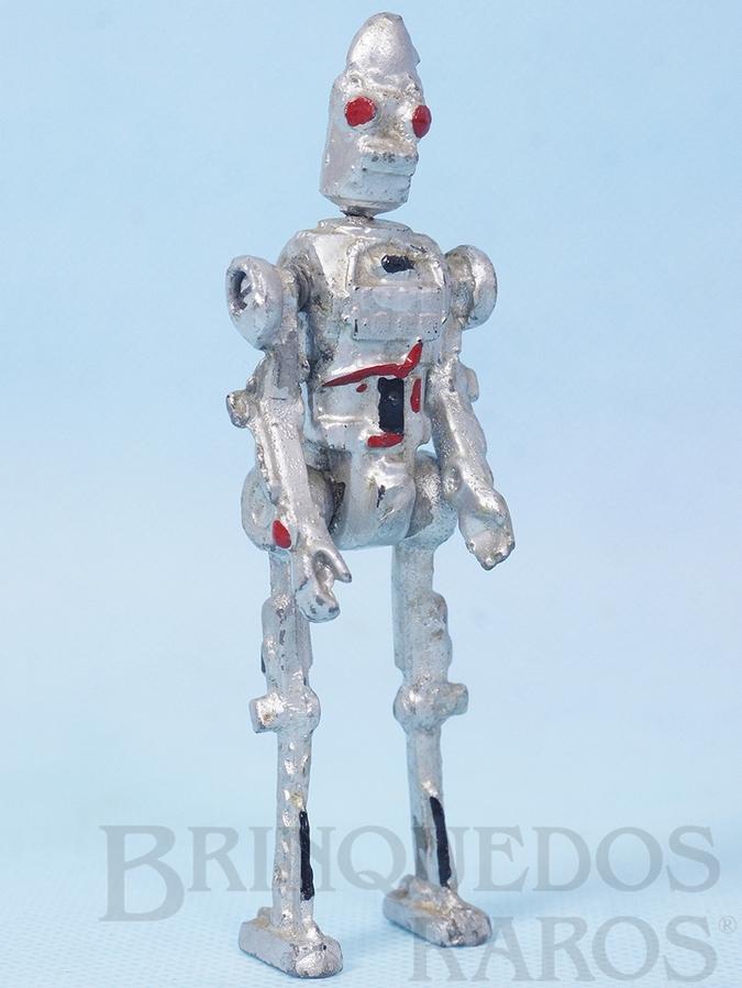 Brinquedo antigo Robot Defensor Série Novas Aventuras na Galáxia Guerra nas Estrelas Star Wars Ano 1983