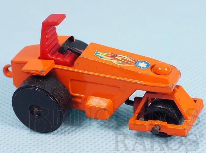 Brinquedo antigo Rod Roller Superfast rodas pretas