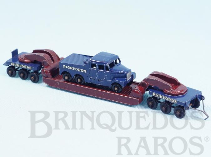 Brinquedo antigo Scammel 6x6 Tractor and 200 Ton Crane Transporter Major Pack