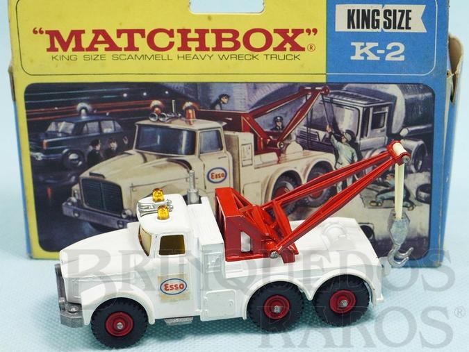 Brinquedo antigo Scammell Heavy Wreck Truck King Size