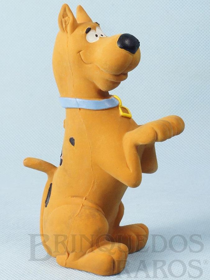Brinquedo antigo ScoobyDoo com Apito 14,00 cm de altura Hanna Barbera Ano 1988