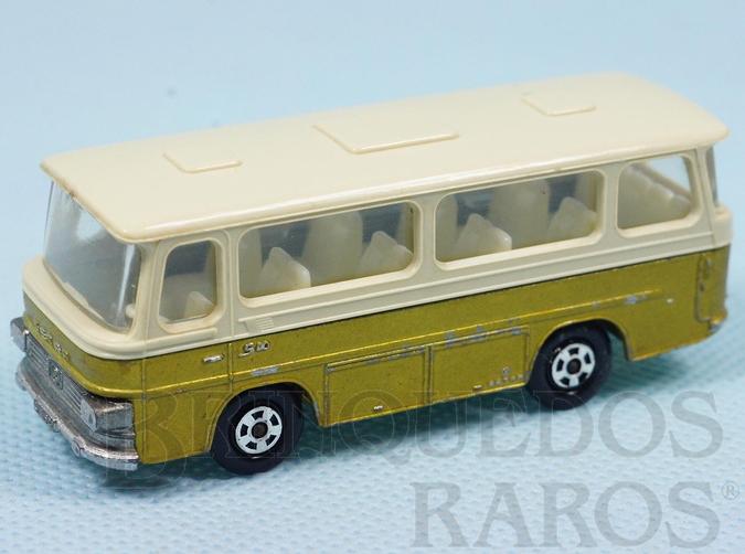 Brinquedo antigo Setra Coach Superfast Transitional Weels dourado