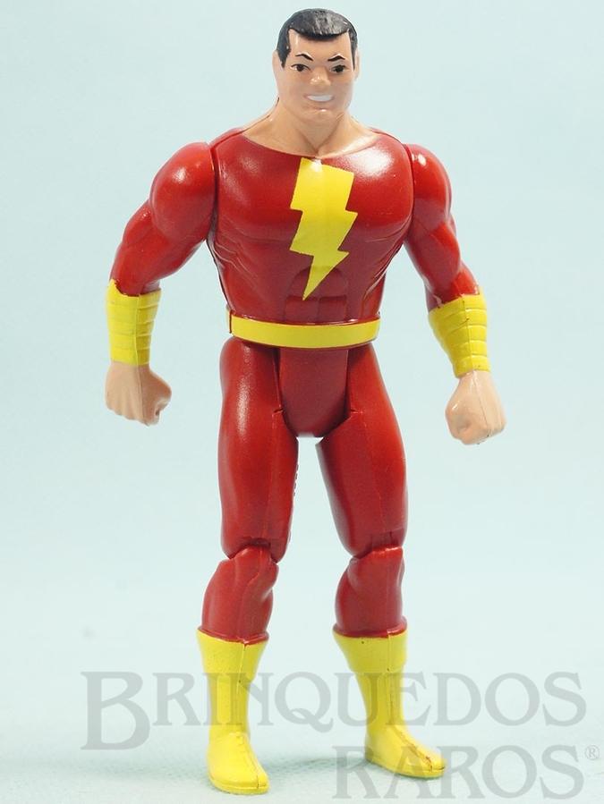 Brinquedo antigo Shazan articulado falta a Capa Coleção Super Powers Ano 1988