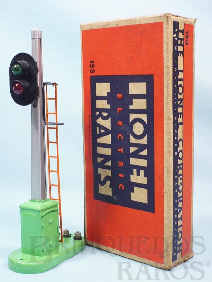 Brinquedo antigo Sinal 153 Automatic Block Signal and Control Ano 1945 a 1969