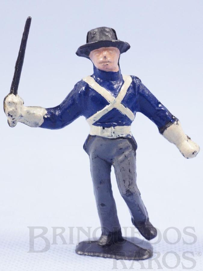 Brinquedo antigo Soldado Espanhol Série O Zorro distribuído pela Trol Década de 1970