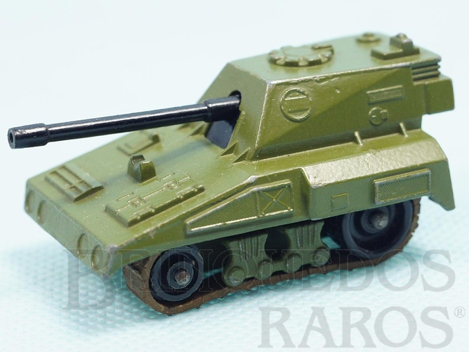 Brinquedo antigo SP Gun Rola-Matics esteira bege